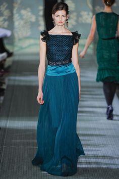 Fall 2012 RTW, Designer: Tory Burch, Model: Bette Franke