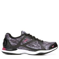 Ryka Women's Grafik Training Shoes (Black/Pink/Grey) Womens Training Shoes, Cross Training Shoes, Shoe Boots, Shoes Sandals, Heels, Sports Shoes, Beautiful Shoes, Pink Grey, Black Shoes