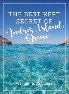 Ever had a secret that's just so good, you can't help but share it? That's how I feel about a hidden-away spot in I stumbled upon, on Andros Island! Europe Travel Tips, Travel Advice, Travel Guides, Travel Destinations, European Travel, Andros Greece, Greece Travel, Greece Vacation, Greece Trip