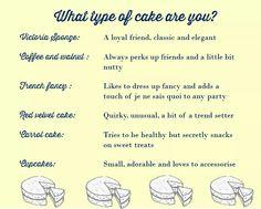 Cake personality
