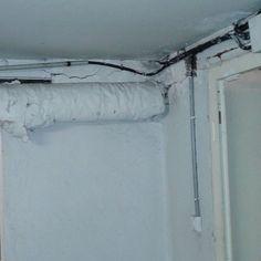 🏡 Calorifugeage plâtreux amianté dans cave d'une maison à #marcqenbaroeul #cabinetlucarre #diagnostic #immobilier #amiante #asbestos