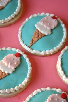 Ice Cream Parlor Cookies