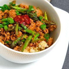 Spicy Pork with Asparagus - Blog 111