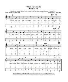 Mandolin, Sheet Music, Music Sheets