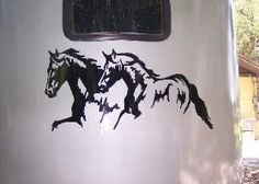 Horse Decals, Horse Stickers & Graphics for horse trailers