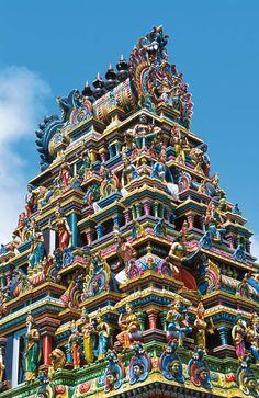 Templo Hindú - ISLA MAURICIO Más