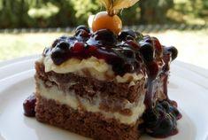 Lehký hrnkový zákusek - Magnilo Slovak Recipes, Czech Recipes, Baking Recipes, Dessert Recipes, Sweet Cakes, Aesthetic Food, Pavlova, No Bake Cake, Sweet Recipes