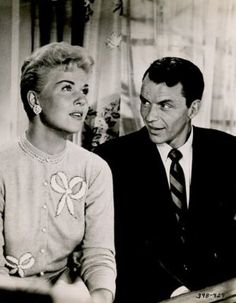 """DORIS DAY and FRANK SINATRA in """"YOUNG AT HEART"""" (1954)."""