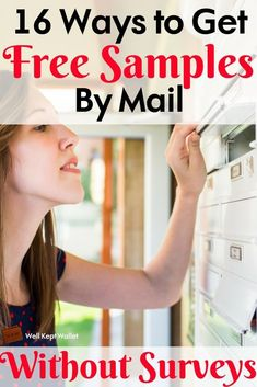 16 Ways to Get Free Samples by Mail Without Surveys Theses sites don't require you to spend hours completing surveys in order to get free samples. Free samples can help you try new products and save money. Free Samples Without Surveys, Free Samples By Mail, Free Makeup Samples, Stuff For Free, Free Stuff By Mail, Save Money On Groceries, Ways To Save Money, Couponing For Beginners, Couponing 101