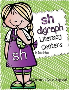 Sh Digraph Literacy Centers