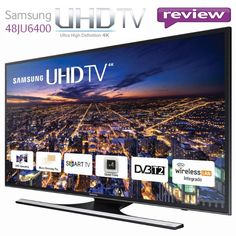 REVIEW Televizor LED Smart Samsung 121 cm 48JU6400 4K Ultra HD