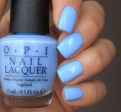 $9.48 - Opi Alice The I's Have It Soft Light Powder Blue Nail Polish Lacquer Ba1!!!! #ebay #Fashion