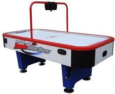 Playcraft Weston 7' & 8' Air Hockey Table w/ Overhead Scorer , Air Hockey - eFamilyFun