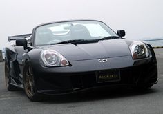 Newer version of my first and favorite car. MR-2 Spyder..I will have one