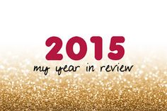 Nurse Advocate: 2015: It's a Wrap, My Year in Review
