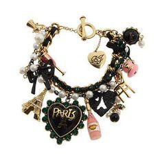 Betsey Johnson Paris bracelet - Just love, love, love it!!!