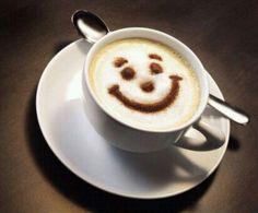 Smile...Coffee/Latte.  ❤☕