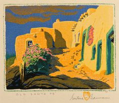Gustave Baumann Exhibit at Museum of Art   Foundation for Las ...