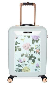 Ted Baker Small Rose Hard Shell Suitcase, $398; nordstrom.com   - ELLE.com