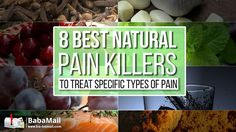 Experiencing pain? We bet nature has the right solution for you to treat it! Find out 8 best natural painkillers to treat stomachaches, earaches, toothaches,
