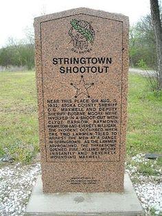 Bonnie and Clyde Ambush Site | Another Bonnie & Clyde Historical Site Now Gone-- Stringtown Dance ...