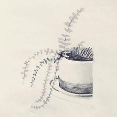 Happy Monday, Ink, Instagram, Pencil, Paper, Plants, India Ink, Plant, Planets