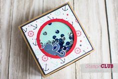 20140628 Stampin Up Sea Street Maritime DSP Maritime Muster Decorative Window Gift Boxes Geschenkboxen mit Zierfenster_-2