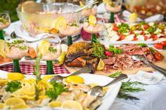 Kärntner Bauernbuffet mit vielen Kärntner Köstlichkeiten im Hotel Almrausch****  www.almrausch.co.at