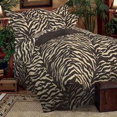 zebra bedset