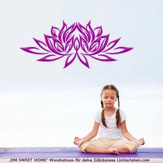 Wundervolles Lotussymbol dient als Schutz und widemt dem Raum eine besondere Atnosphäre der Reinheit#lichterleben