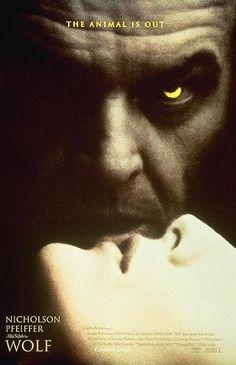 "MP822. ""Wolf"" Movie Poster by Bemis Balkind (Mike Nichols 1994) / #Movieposter"