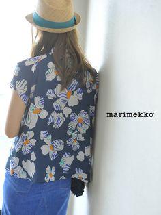 【楽天市場】marimekko マリメッコ Kosmoskukka/KUUTAR コスモスクッカブラウス・5243240813(全2色)(S・M)【2014春夏】:Crouka(クローカ)