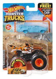 Monster Truck Toys, Monster Jam, Toy Trucks, Jurassic World Indominus Rex, Hot Wheels Cars, Useful Life Hacks, Cute Baby Animals, Custom Cars, Diecast