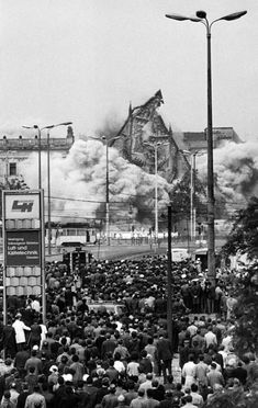 Sprengung der Paulinerkirche am 30. Mai 1968