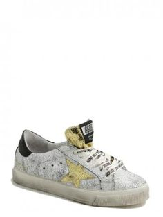 Golden Goose-sneakers may white marble gold-Golden Goose shop online