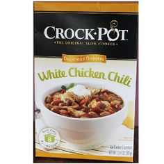 Crock Pot Wht Chicken Chili (6x12.87OZ )