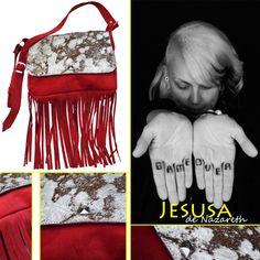 Cartera LOUVRE - Leather Bags - Shop online www.jesusadenazareth.com.ar