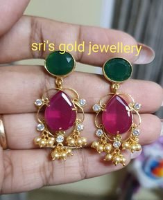 Yellow Gold Round Cut Diamond Stud Earrings cttw, J-K Color, Clarity) – Fine Jewelry & Collectibles Pearl Necklace Designs, Jewelry Design Earrings, Gold Earrings Designs, Beaded Jewelry, Gold Jewellery, Latest Jewellery, Bridal Jewelry, Diamond Jewelry, Gold Jewelry Simple