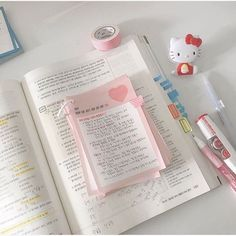 aesthetic notes handwriting diary page layout highlighters pens cute kawaii daily weekly monthly g e o r g i a n a : p e n > s w o r d Back To University, University Girl, Study Room Decor, Study Organization, Study Journal, School Study Tips, Journal Aesthetic, Study Space, Studyblr