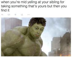 """61 Funny Clean Memes - """"When you get all heated up in an argument and suddenly realize you are wrong."""" Humor 61 Funny Clean Memes That You're Going to Love Funny Shit, Stupid Funny Memes, Funny Relatable Memes, The Funny, Hilarious, Funny Stuff, Daily Funny, Can't Stop Laughing, Laughing So Hard"""