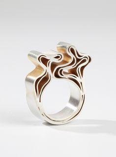 Cool ring design :) http://www.josjonkergouw.nl/sieraden/ring6/
