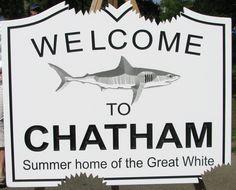 Chatham sign, Cape Cod, MA