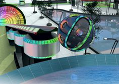 Some people think the future of the amusement is all about virtual reality. I think it's about a mix of electromagnetic acceleration, free falls, and untethered jumps into water.