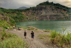 Danau Quary. Bekas tambang yang menjelma menjadi tempat keren yang fotogenik di Bogor