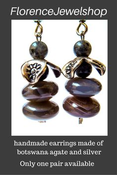 these handmade blackgrey earrings are named grand and made of labradonite and silver