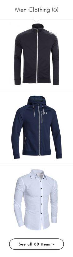 """Men Clothing (6)"" by enchantedrose33 ❤ liked on Polyvore featuring men's fashion, men's clothing, men's activewear, men's activewear tops, ea7 emporio armani, men's outerwear, men's jackets, mens soft shell jacket, mens softshell jacket and mens jackets"
