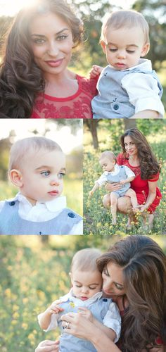 gorgeous mom and baby photos