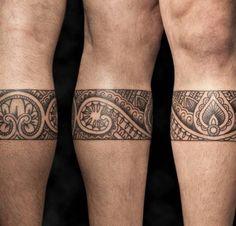 Resultado de imagen de tatuajes maori pierna