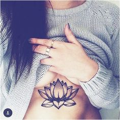 Lotus heart breast