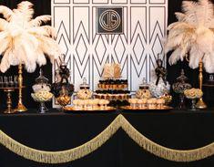 50 Great Gatsby Party Decor Ideas 5